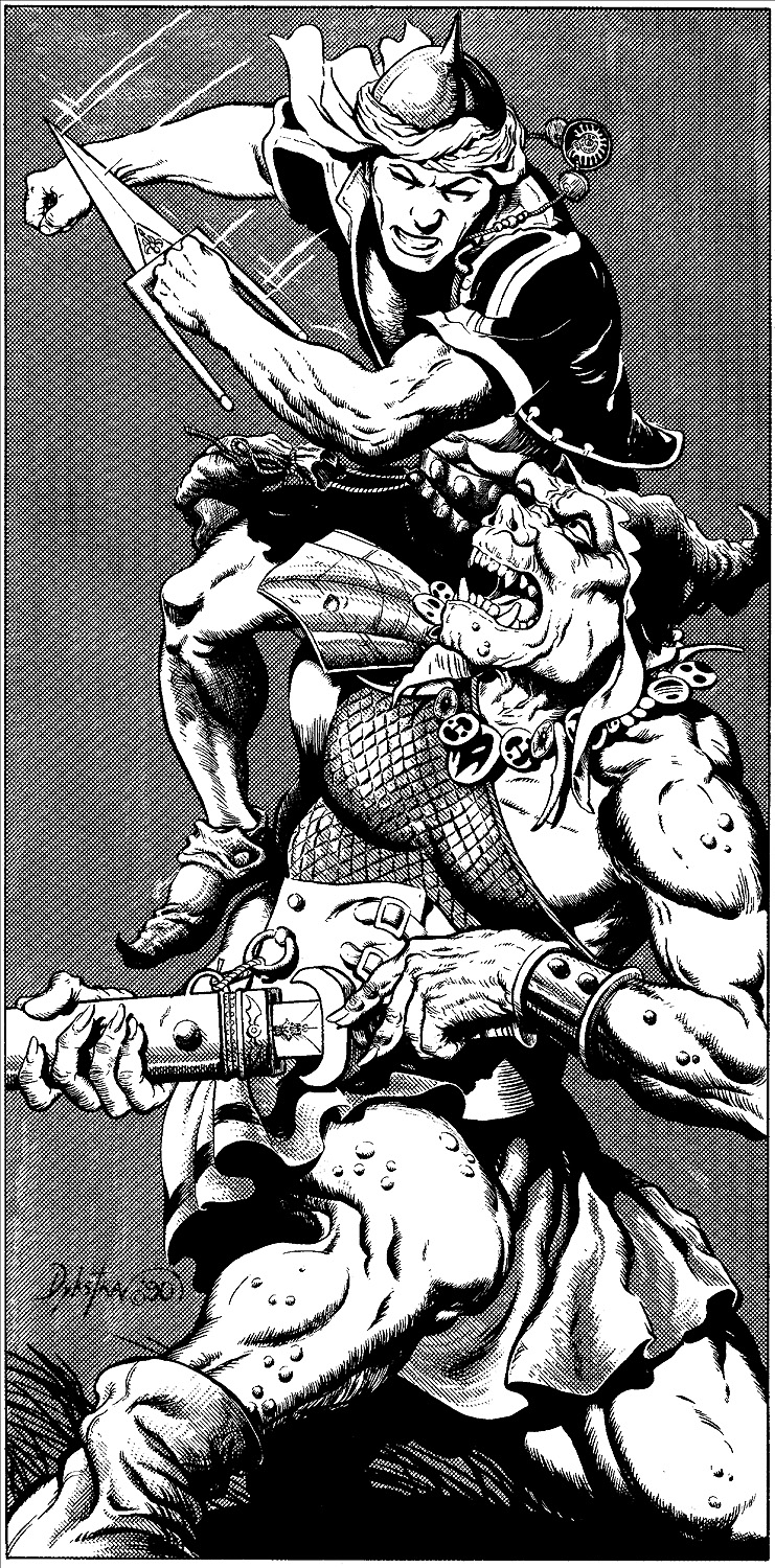 orc Orco - by Terry Dykstra Dragon Magazine #169 (1991-04) © Wizards of the Coast & Hasbro
