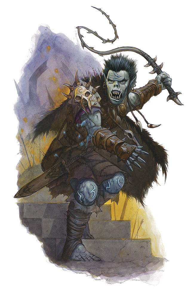 orc Orco - by Wayne England Neverwinter Campaign Setting (2011-08) © Wizards of the Coast & Hasbro