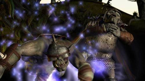 orcs Orchi nel film interattivo promozionale della 3a edizione Interactive Movie: Scourge of Worlds, A Dungeons & Dragons Adventure (2003-06) © Rhino Theatrical, Wizards of the Coast & Hasbro