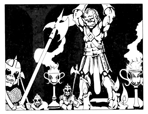orcs Orchi - by Bill Willingham TSR - Slave Pits of the Undercity (1980-12) © Wizards of the Coast & Hasbro