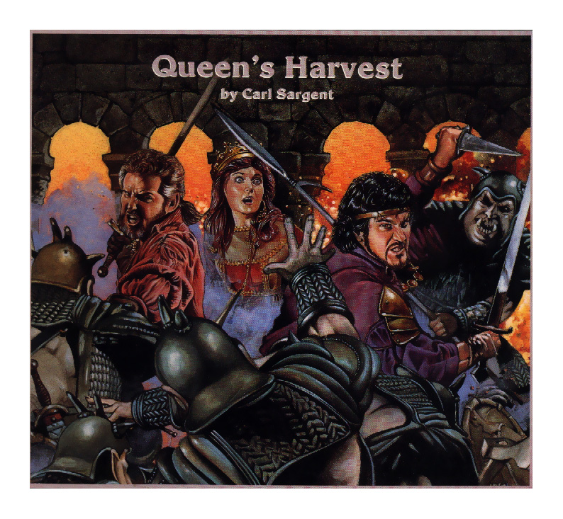 orcs Orchi in quantità - by John e Laura Lakey TSR - Queen's Harvest (1989) © Wizards of the Coast & Hasbro
