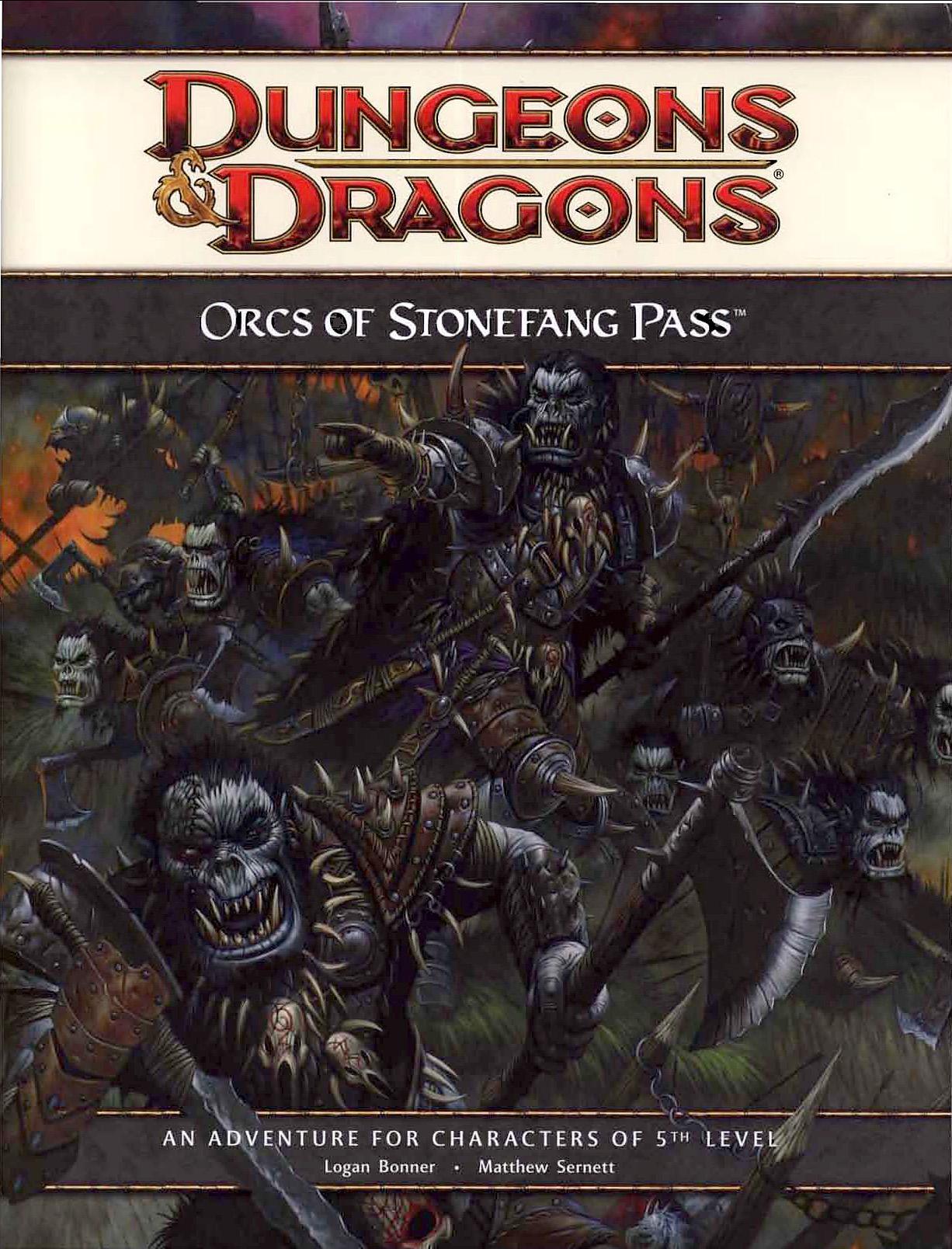 orcs Gli orchi di passo Zannapietra - by Wayne England Orcs of Stonefang Pass (2010-07) © Wizards of the Coast & Hasbro