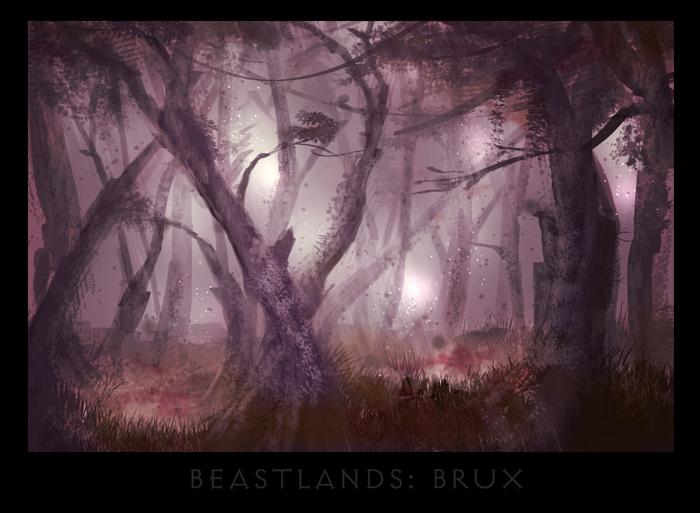 "ronamis ""Beastlands - Brux"", cartolina dei Piani Esterni - by ronamis (Michael Malkin) ronamis.deviantart.com (2013) © dell'autore tutti i diritti riservati"