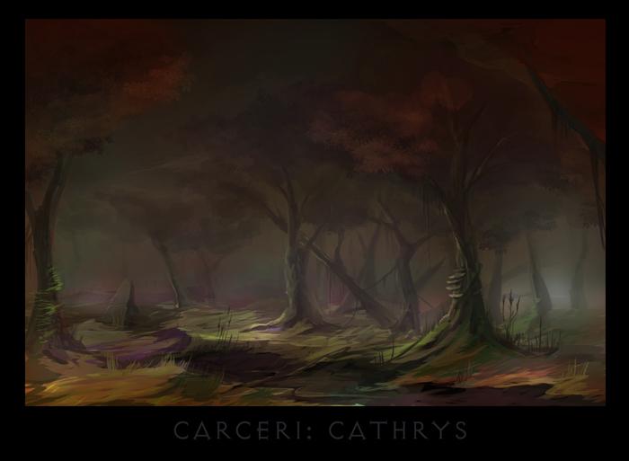 "ronamis ""Caceri - Cathrys"", cartolina dei Piani Esterni - by ronamis (Michael Malkin) ronamis.deviantart.com (2013) © dell'autore tutti i diritti riservati"