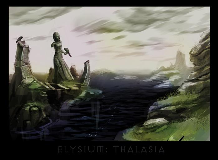 "ronamis ""Elysium - Thalasia"", cartolina dei Piani Esterni - by ronamis (Michael Malkin) ronamis.deviantart.com (2013) © dell'autore tutti i diritti riservati"