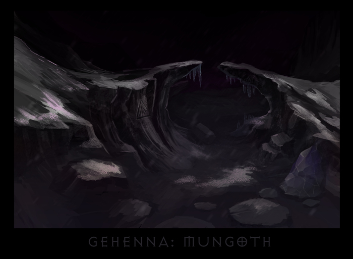 "ronamis ""Gehenna - Mungoth"", cartolina dei Piani Esterni - by ronamis (Michael Malkin) ronamis.deviantart.com (2013) © dell'autore tutti i diritti riservati"