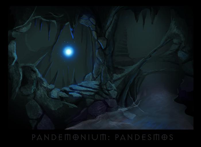 "ronamis ""Pandemonium - Pandesmos"", cartolina dei Piani Esterni - by ronamis (Michael Malkin) ronamis.deviantart.com (2013) © dell'autore tutti i diritti riservati"