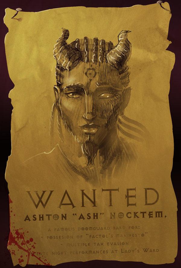 "ronamis ""Ash's Wanted Poster"" - by ronamis (Michael Malkin) ronamis.deviantart.com (2013) © dell'autore tutti i diritti riservati"