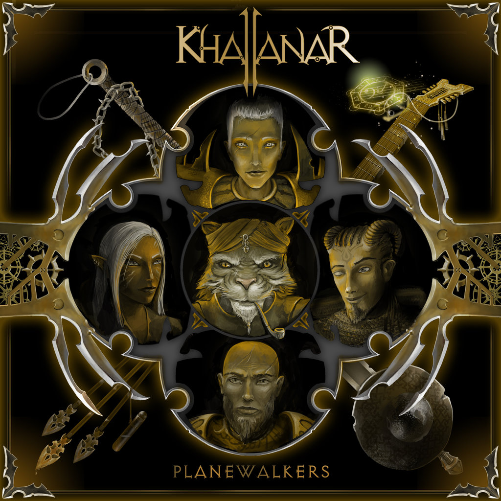 "ronamis ""Khallanar - Planewalkers"" copertina album - by ronamis (Michael Malkin) ronamis.deviantart.com (2015) © dell'autore tutti i diritti riservati"