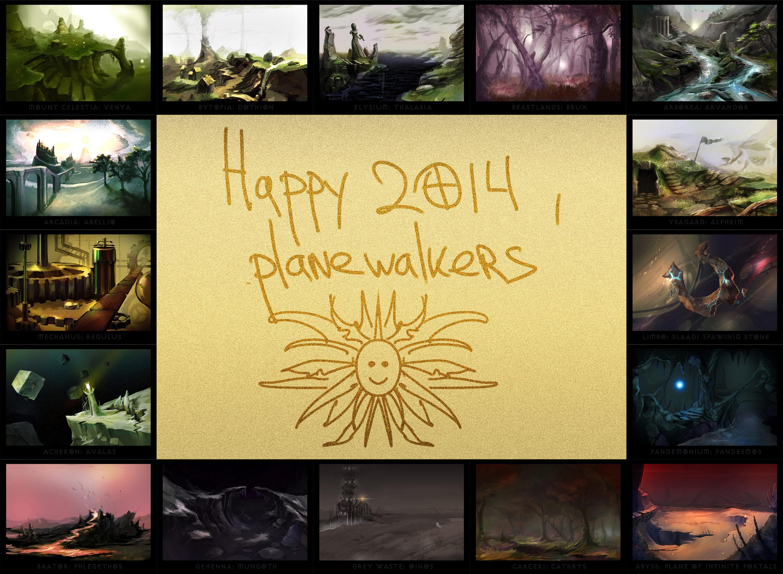 """ronamis """"Planescape Postcards"""", le cartoline dei Piani Esterni - by ronamis (Michael Malkin) ronamis.deviantart.com (2013) © dell'autore tutti i diritti riservati"""