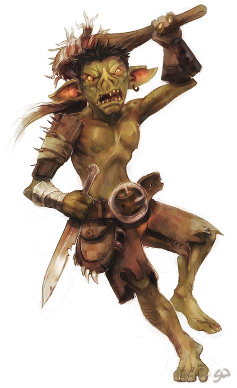 "stephen-wood ""Goblin"" - by Stephen Wood wood-illustration.deviantart.com (2012) © dell'autore, tutti i diritti riservati"