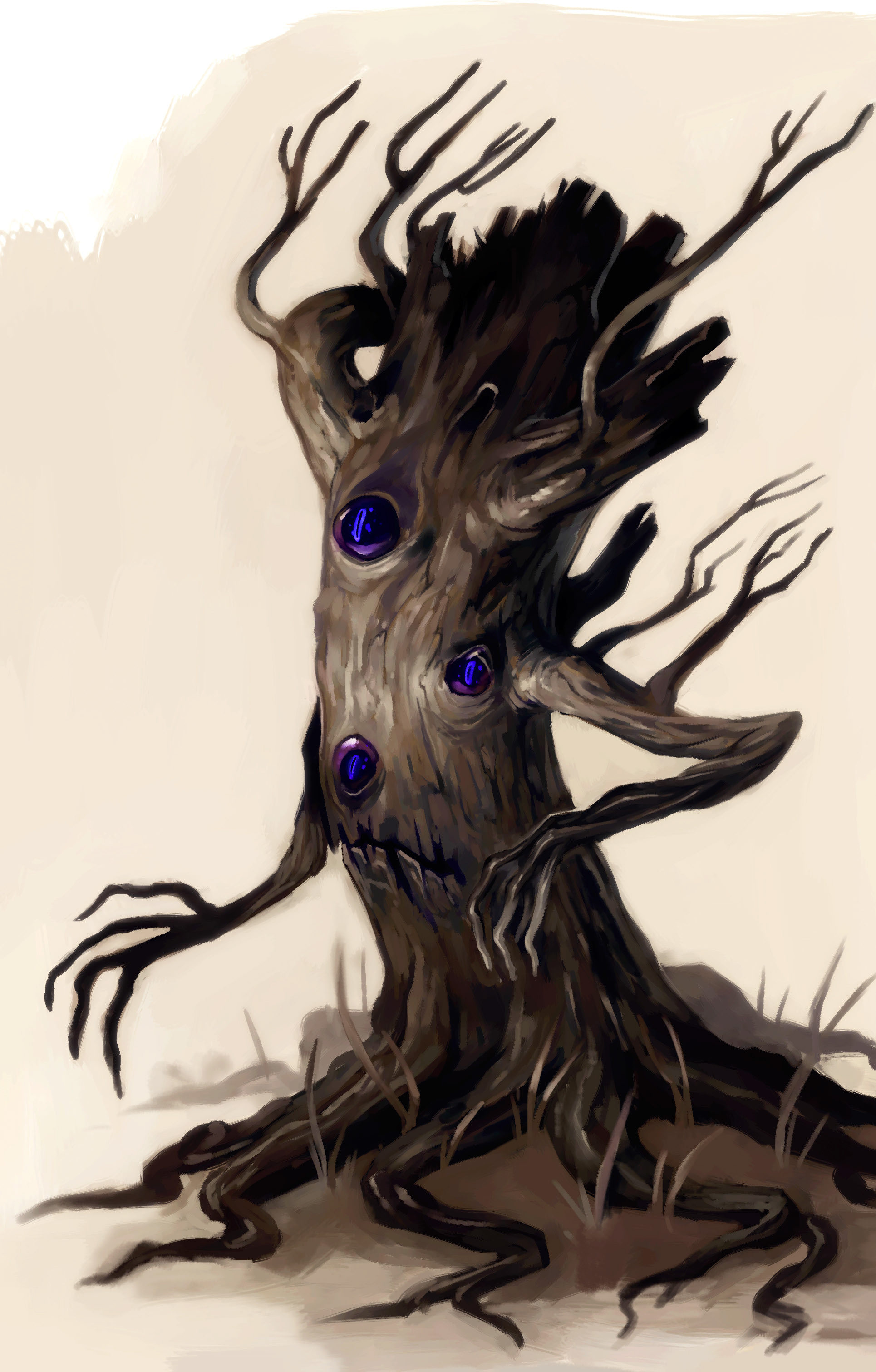 "stephen-wood ""Tree Blight"" - by Stephen Wood Dungeon Master's Guild ""Countess' Guide: Beasts and Blights"" (2016-10) © Wizards of the Coast e dell'autore, tutti i diritti riservati"