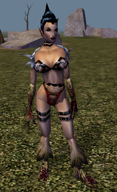succubus Succube, screenshot dall'editor Videogame: NeverWinter Nights (2002-12) © Interplay, Wizards of the Coast e Hasbro