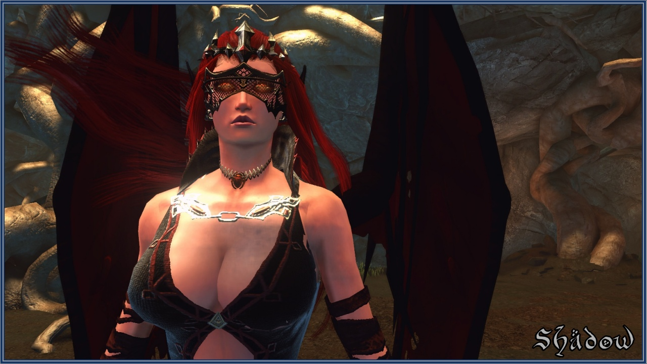 succubus Succube, screenshot di gioco Videogame: Dungeons & Dragons Neverwinter Online (2013-06) © Cryptic Studios, Wizards of the Coast e Hasbro