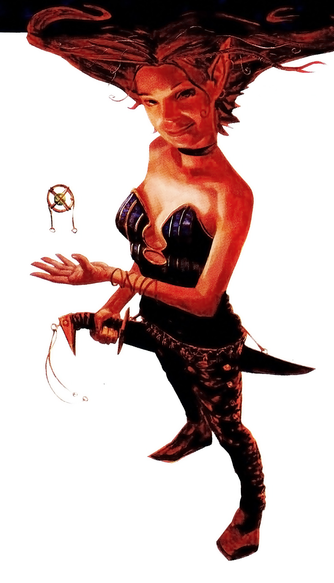 succubus Fall From Grace di Planescape: Torment - by Scott M. Fischer Dragon Magazine #264 (1999-10) © TSR, Wizards of the Coast