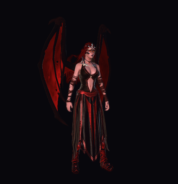 succubus Succube, dall'editor Foundry Videogame: Dungeons & Dragons Neverwinter Online (2013-06) © Cryptic Studios, Wizards of the Coast e Hasbro