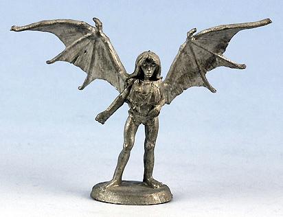 succubus miniature Succube, blister singolo (11-642) Advanced Dungeons & Dragons 2ed Planescape Miniatures (1994) © Ral Partha, TSR
