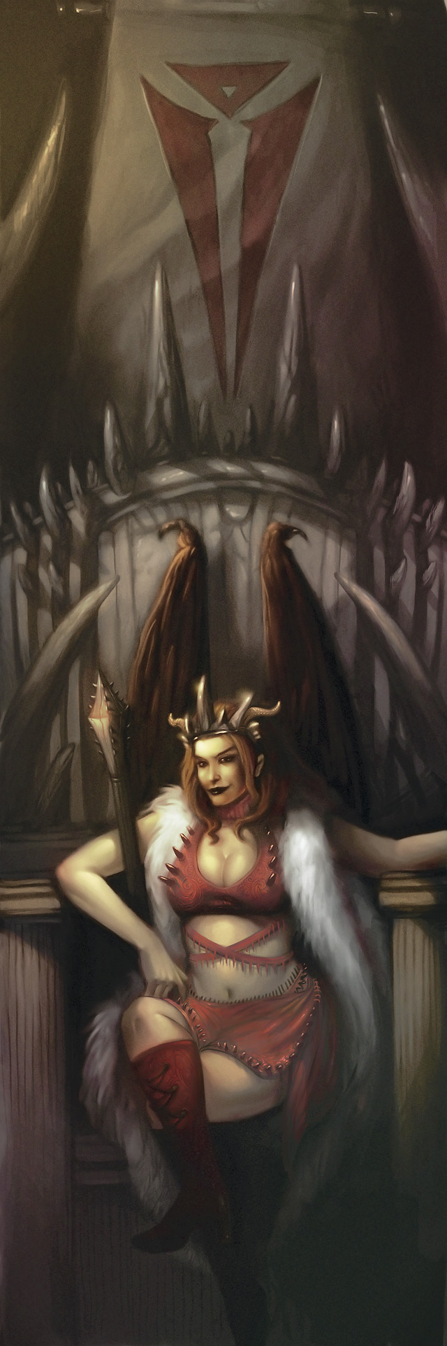 succubus Succube - by Amelia Stoner Dungeon Master's Guide 2 (2009-09) © Wizards of The Coast e Hasbro