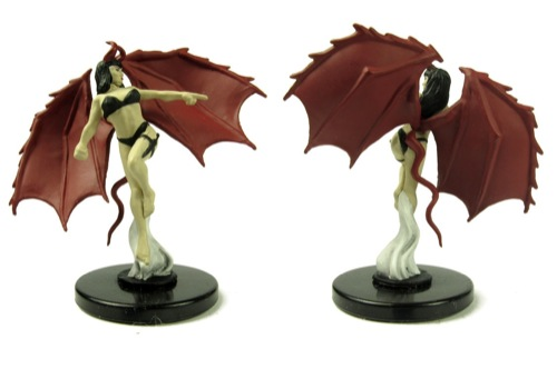 succubus Succube, blister singolo Miniatures - Pathfinder Battles, Heroes and Monsters (2012-01) © Paizo Publishing
