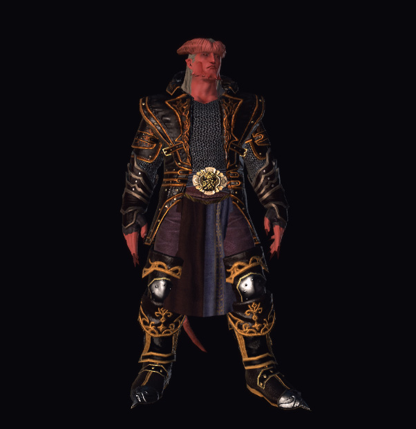 3d Tiefling, screen dall'editor Foundry Videogame: Dungeons & Dragons, Neverwinter Online (2013-06) © Cryptic Studios, Wizards of the Coast & Hasbro