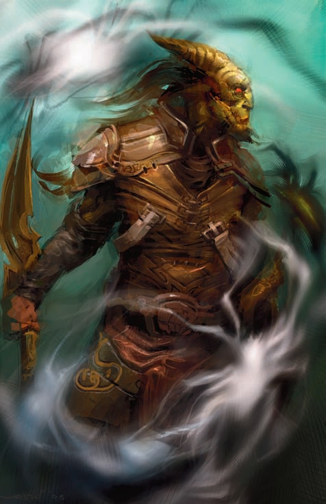 {$tags} Tiefling - by Goran Josic Forgotten Realms Player's Guide (2008-09) © Wizards of the Coast & Hasbro
