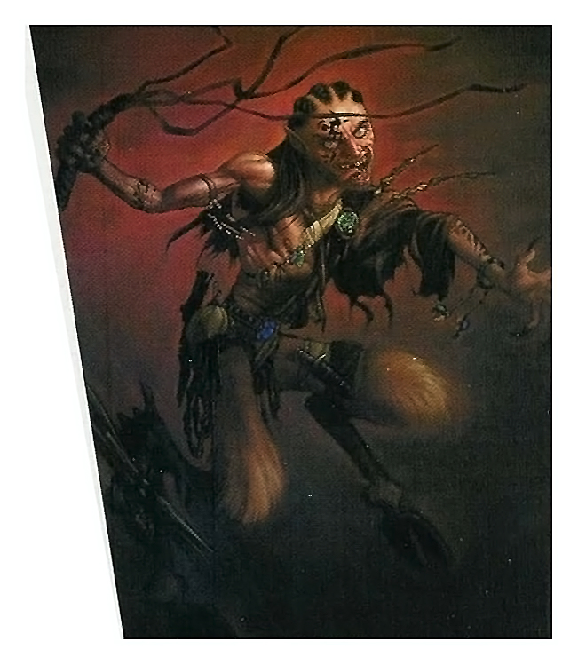 {$tags} Tiefling - by Mike May Dragon Magazine #287 (2001-03) © Wizards of the Coast & Hasbro