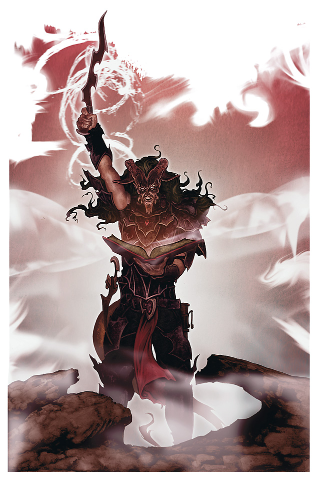 {$tags} Tiefling - by Woodrow Hinton III Player's Handbook Races, Tieflings (2010-06) © Wizards of the Coast & Hasbro
