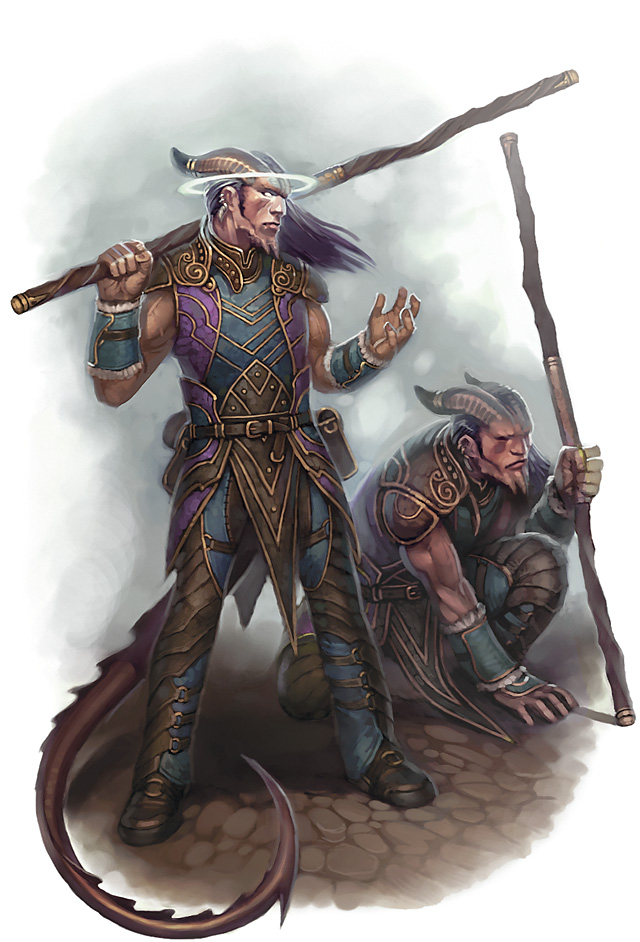 planetouched Gemelli tiefling psionici? - by Eric Belisle Player's Handbook 3 (2010-03) © Wizards of the Coast & Hasbro