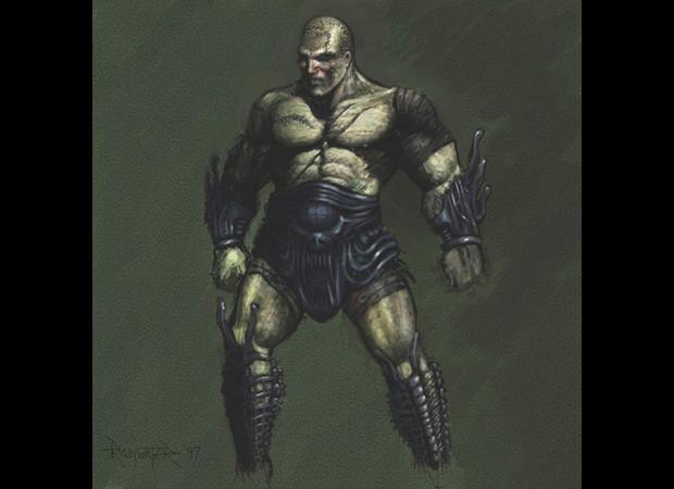 Planescape Torment Concept - Nameless One, idea iniziale del personaggio by Chris Avellone (1999)