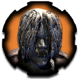 Planescape Torment small Portrait - Nameless One zombie disguise (1999)