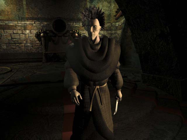 Planescape Torment Rendering definitivo - Dustman, Male (1999)