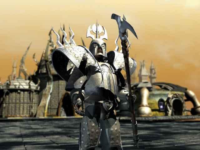 Planescape Torment Rendering definitivo - Godsman Guard (1999)