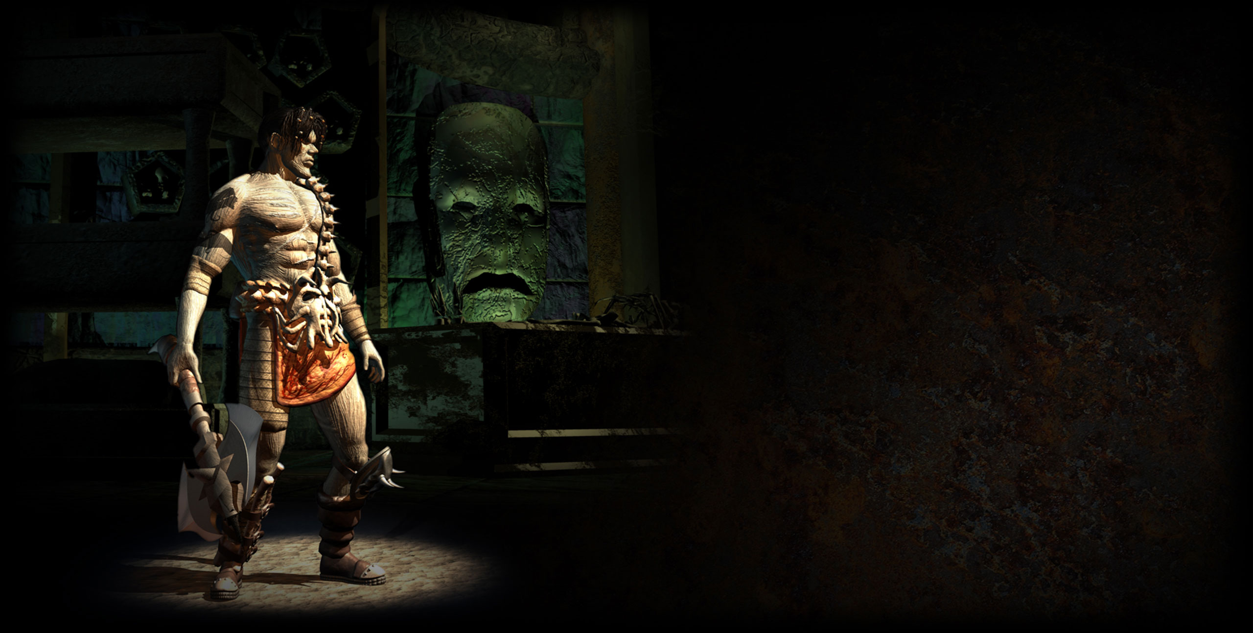 Nameless One, Planescape Torment Enhanced Edition Promotional BG on www.planescape.com