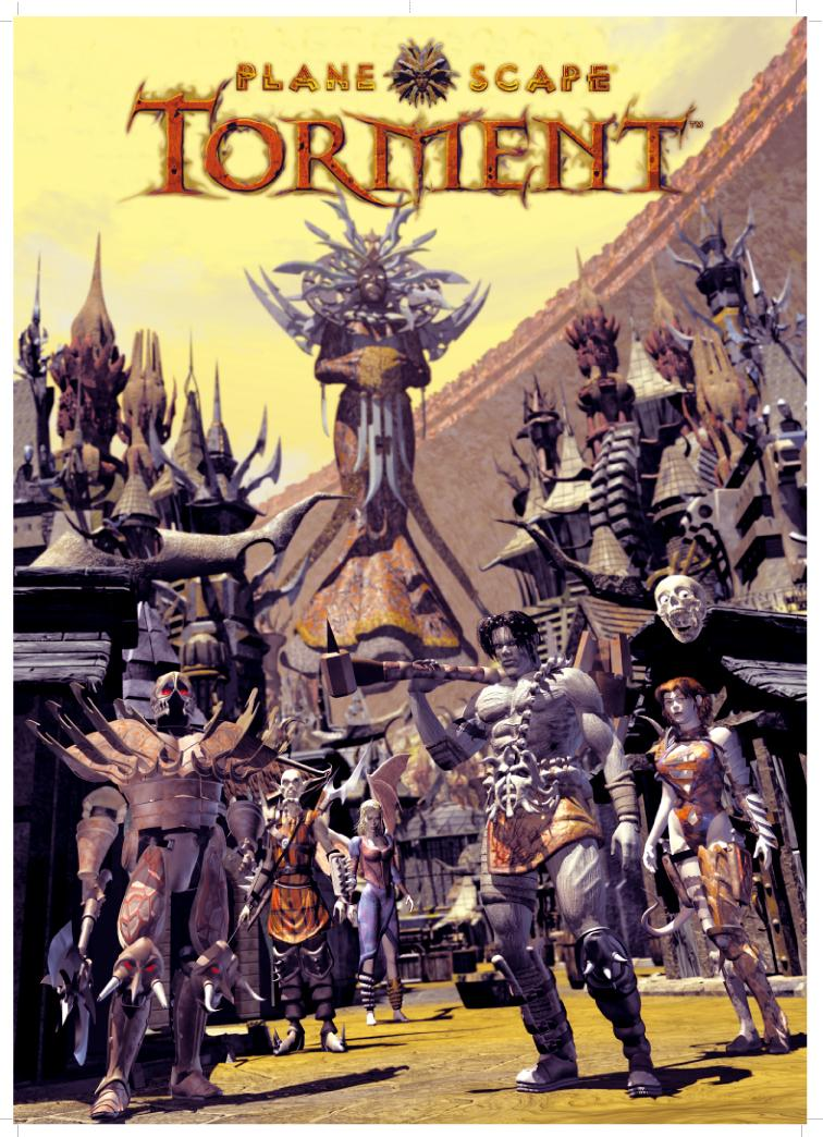 Planescape Torment Poster - Lady of Pain and others
