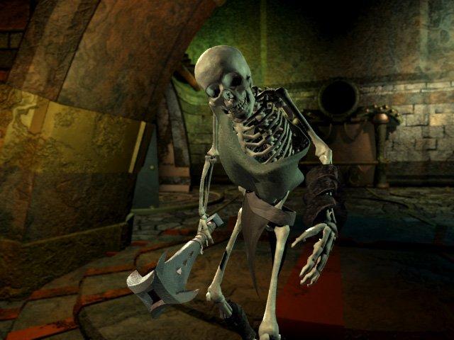Planescape Torment Rendering definitivo - Skeleton (1999)
