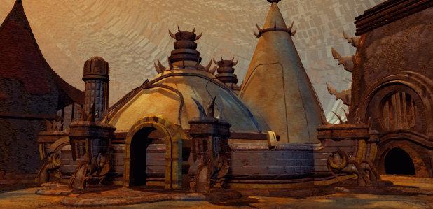 Planescape Torment Rendering ambiente - Immagine 4, schermata di caricamento