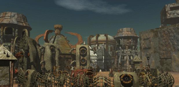 Planescape Torment Rendering ambiente - Immagine 6, schermata di caricamento