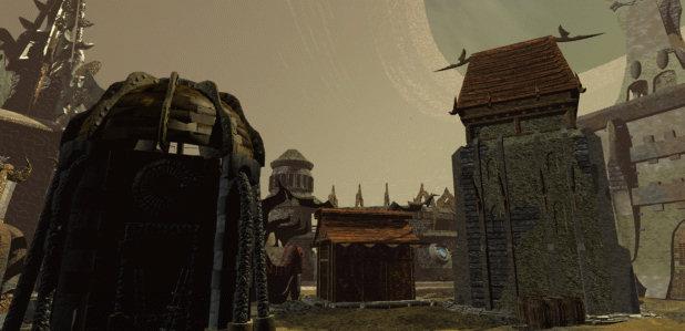 Planescape Torment Rendering ambiente - Immagine 8, schermata di caricamento