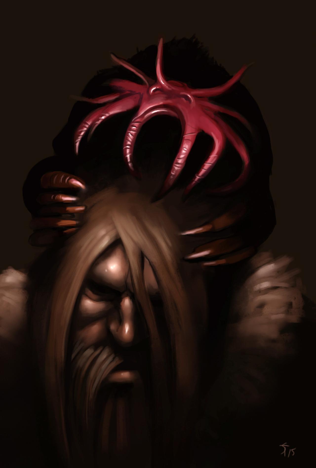 """the-murdellicious #12: """"Brain Mole"""" - by Tuomas Salmela themurling.tumblr.com (2015) © dell'autore tutti i diritti riservati"""