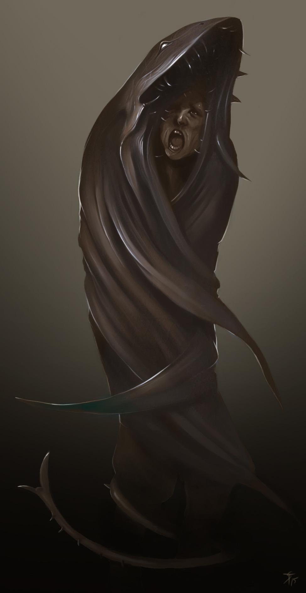 """the-murdellicious #23: """"Cloaker"""" - by Tuomas Salmela themurling.tumblr.com (2015) © dell'autore tutti i diritti riservati"""