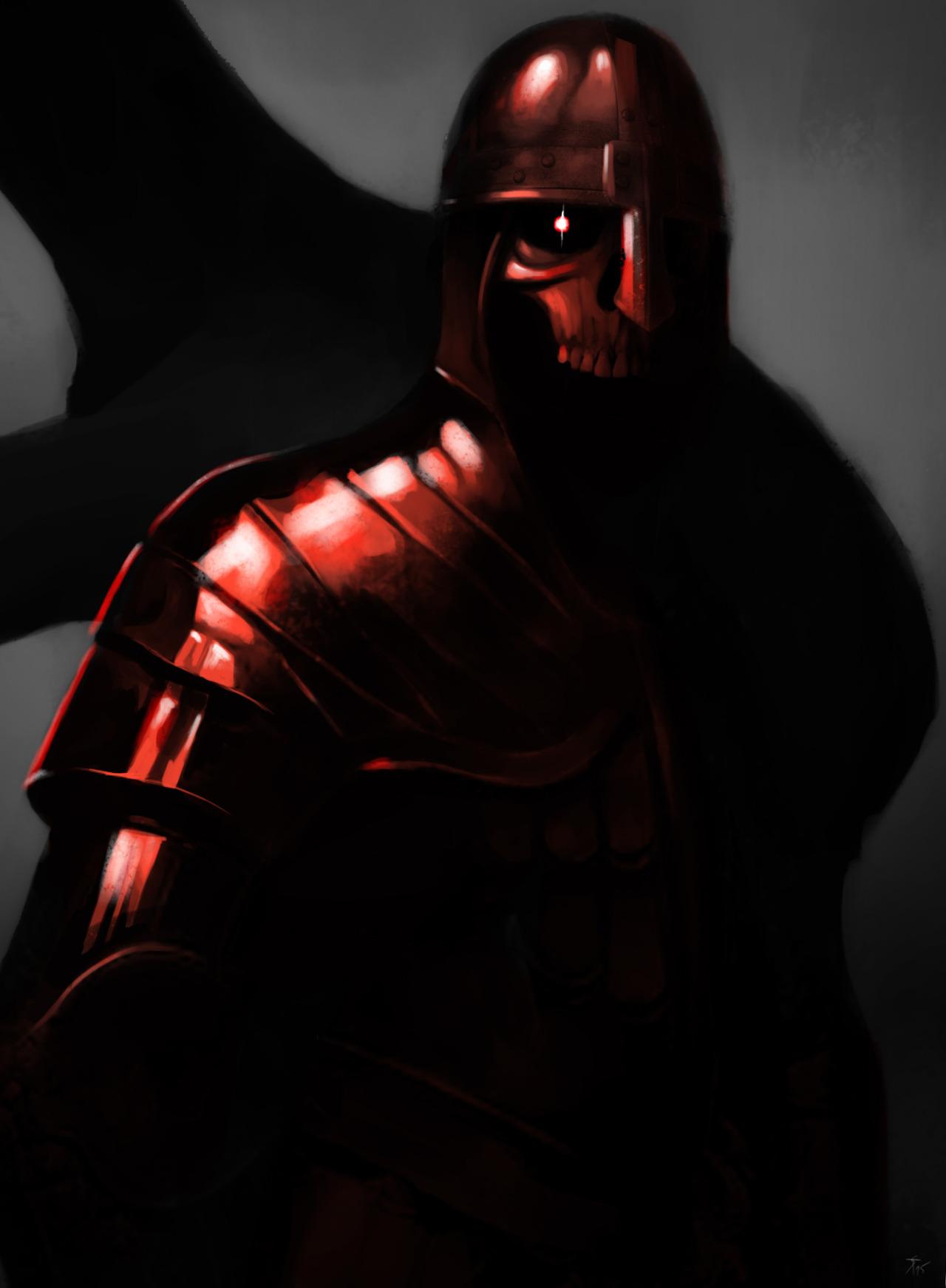 """the-murdellicious #29: """"Death Knight"""" - by Tuomas Salmela themurling.tumblr.com (2015) © dell'autore tutti i diritti riservati"""