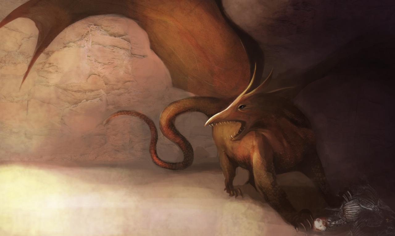 """the-murdellicious #38: """"Dragon, Red"""" - by Tuomas Salmela themurling.tumblr.com (2015) © dell'autore tutti i diritti riservati"""