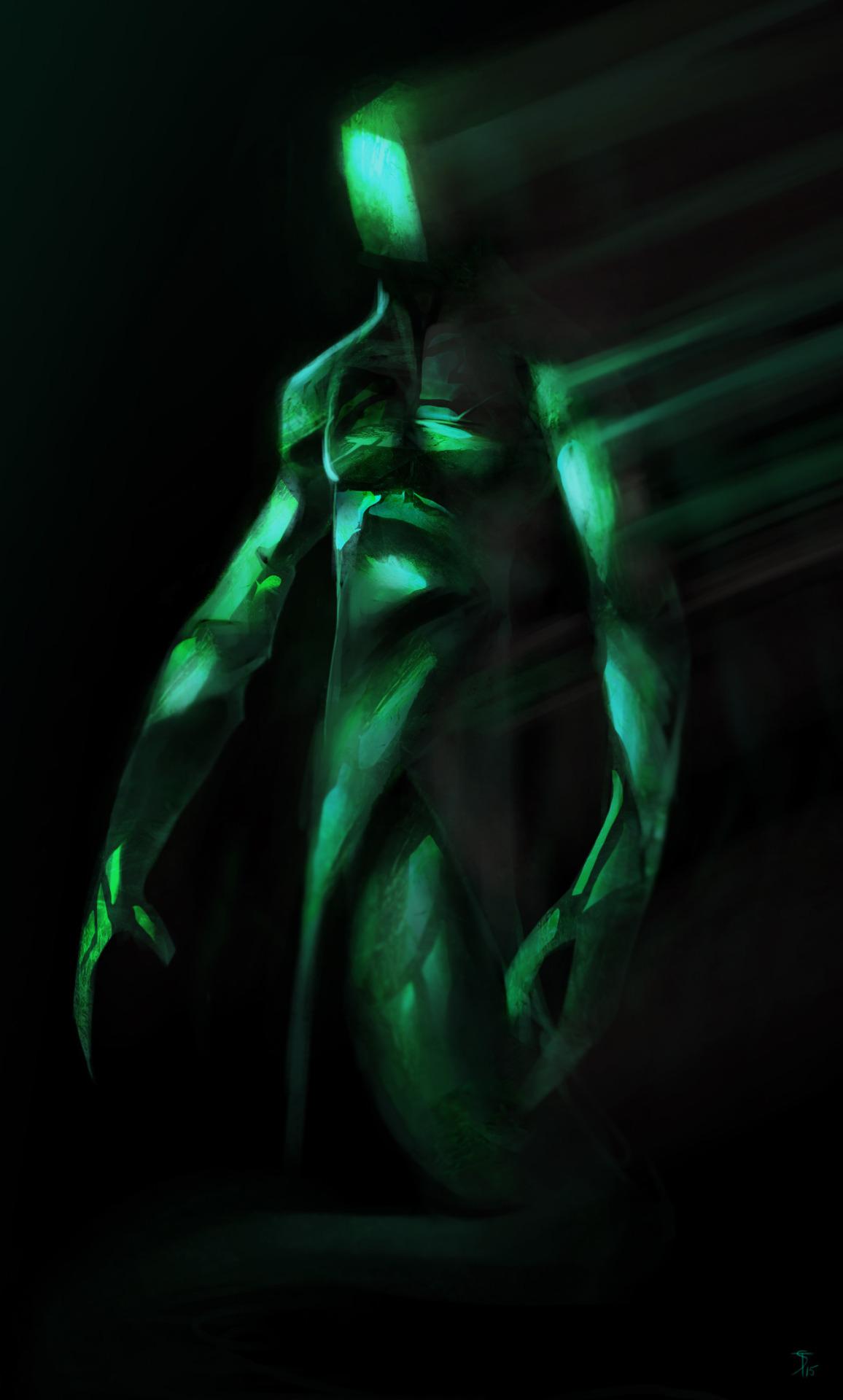 """the-murdellicious #42: """"Dragon, Emerald"""" - by Tuomas Salmela themurling.tumblr.com (2015) © dell'autore tutti i diritti riservati"""