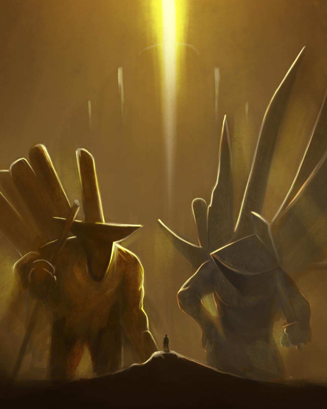 """the-murdellicious #48 e 49: """"Dragon, Gold + Dragon, Silver"""" - by Tuomas Salmela themurling.tumblr.com (2015) © dell'autore tutti i diritti riservati"""
