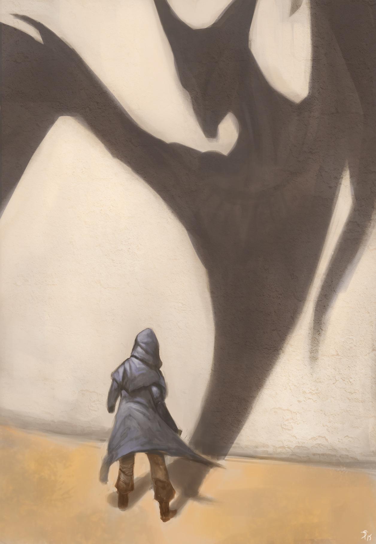 """the-murdellicious #55: """"Dragon, Shadow"""" - by Tuomas Salmela themurling.tumblr.com (2015) © dell'autore tutti i diritti riservati"""