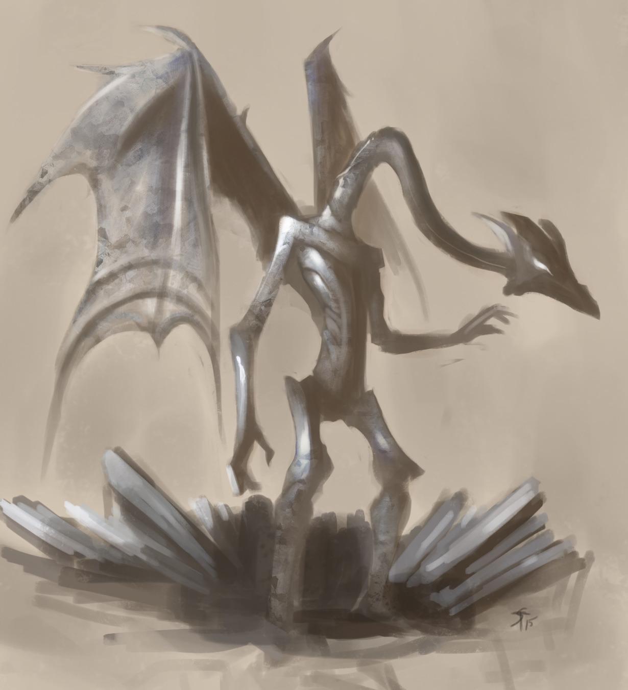"""the-murdellicious #56: """"Dragon, Steel"""" - by Tuomas Salmela themurling.tumblr.com (2015) © dell'autore tutti i diritti riservati"""