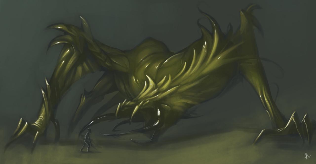 """the-murdellicious #57: """"Dragon, Yellow"""" - by Tuomas Salmela themurling.tumblr.com (2015) © dell'autore tutti i diritti riservati"""