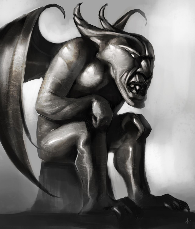 """the-murdellicious #81: """"Gargoyle"""" - by Tuomas Salmela themurling.tumblr.com (2015) © dell'autore tutti i diritti riservati"""