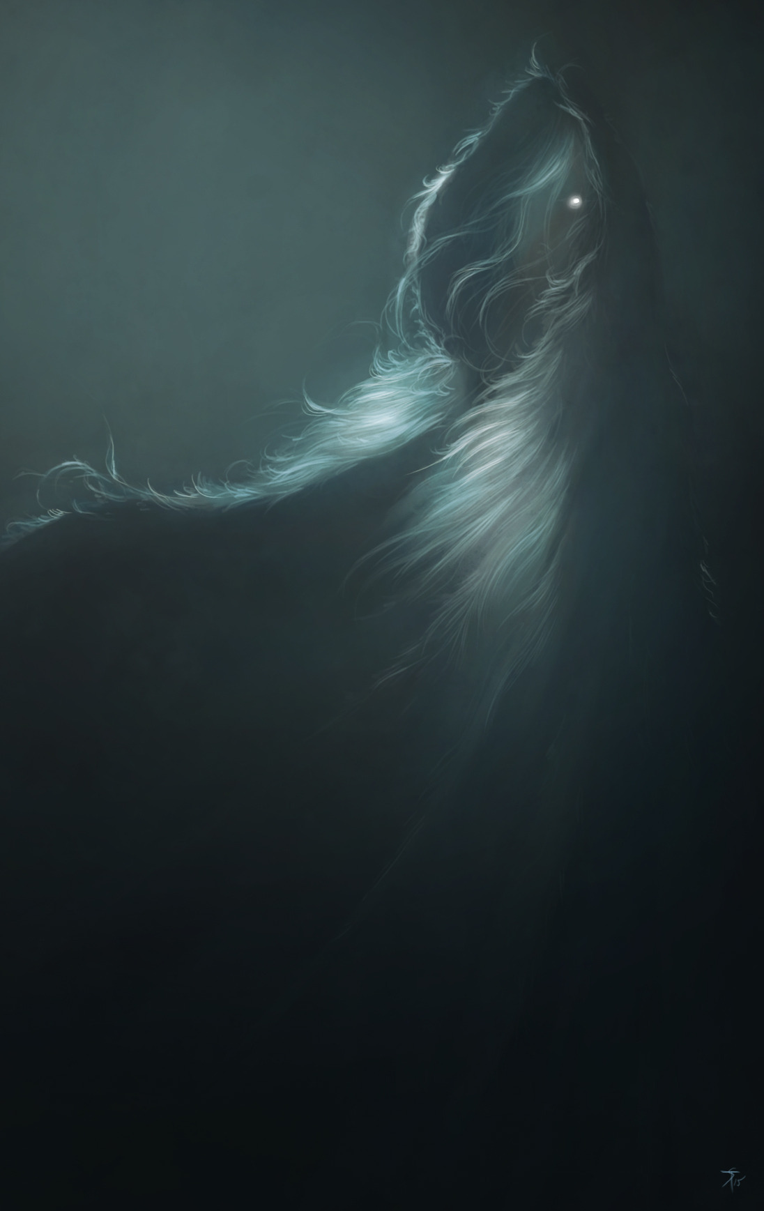 """the-murdellicious #83: """"Ghost"""" - by Tuomas Salmela themurling.tumblr.com (2015) © dell'autore tutti i diritti riservati"""