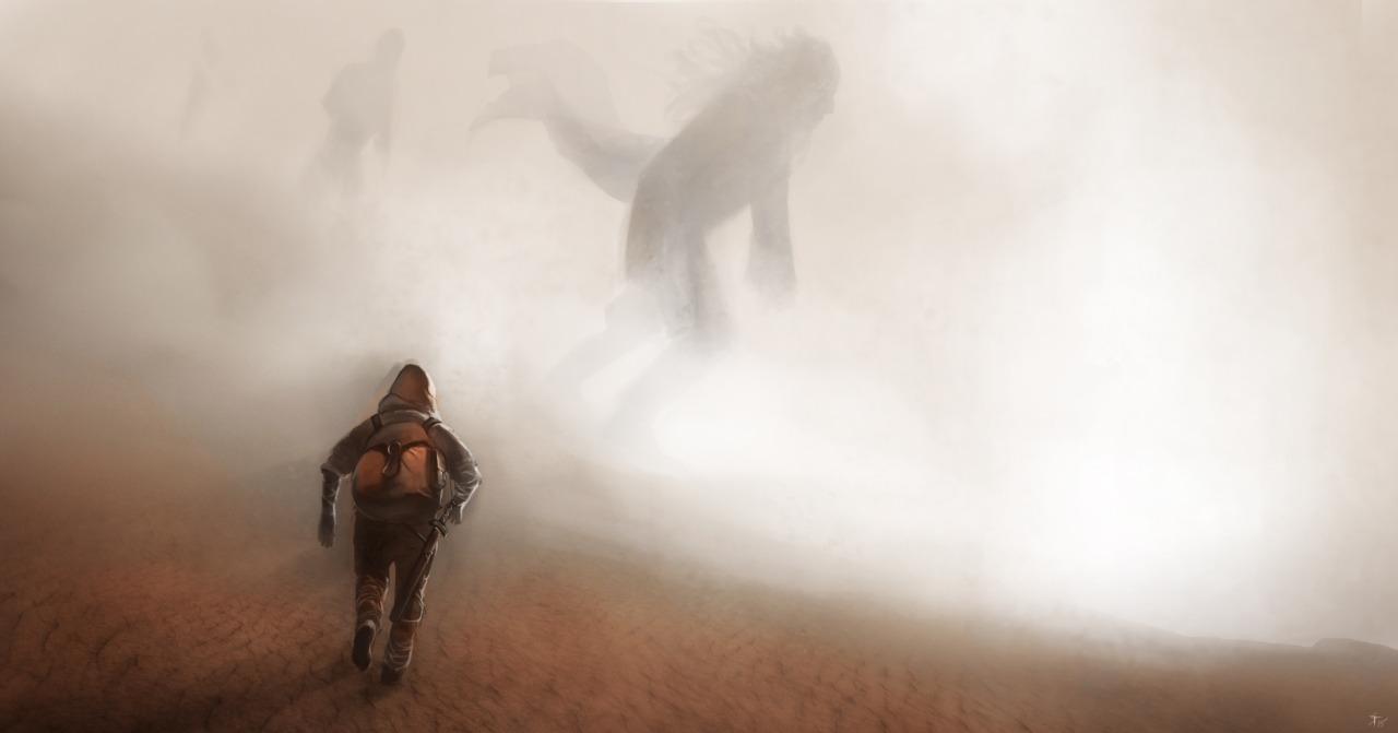 """the-murdellicious #88: """"Desert Giant"""" - by Tuomas Salmela themurling.tumblr.com (2015) © dell'autore tutti i diritti riservati"""